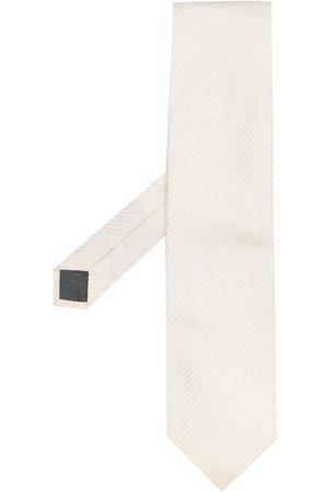 Gianfranco Ferré 1990s jacquard striped tie