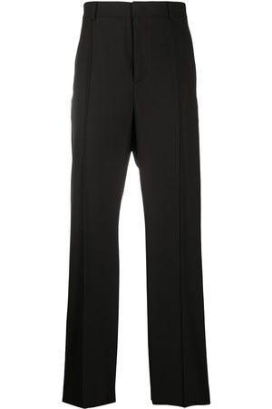 VALENTINO Straight-leg cotton trousers