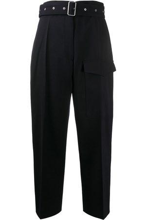 Jil Sander Belted wide-leg trousers