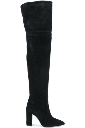 PARIS TEXAS Pointed over-the-knee boots