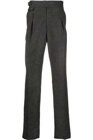 Alexander McQueen Straight-leg wool trousers
