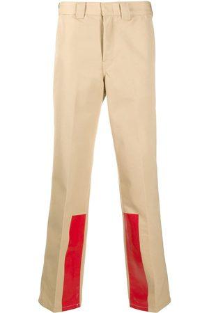 Helmut Lang High rise straight leg trousers