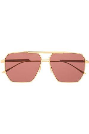 Bottega Veneta Muži Sluneční brýle - Navigator-frame sunglasses