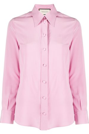 Gucci Crêpe de Chine silk shirt