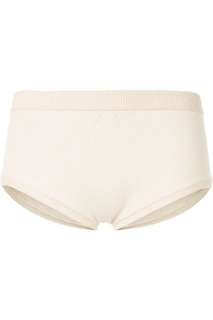 Kiki de Montparnasse Ribbed-trim plain briefs