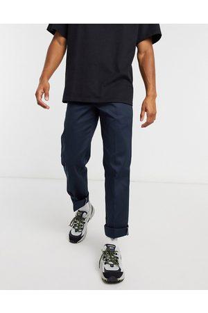 Dickies 873 slim straight fit work pant in dark navy