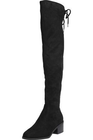 Steve Madden Ženy Nad kolena - Kozačky nad kolena 'Gerardine