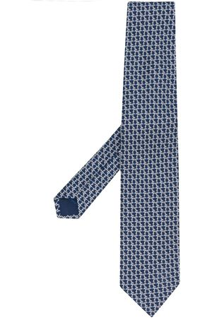 Salvatore Ferragamo Pointed silk tie