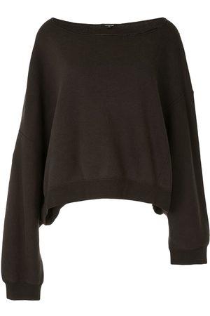 R13 Patti off-shoulder sweatshirt