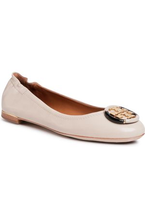 Tory Burch Minnie Ballet With Multi Logo 74062