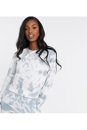 New Look Tie dye sweatshirt-Grey
