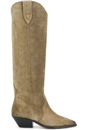 Isabel Marant Suede knee boots