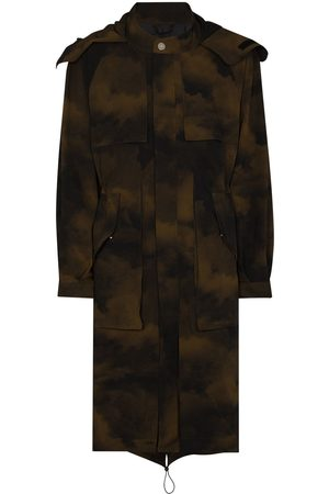 A-cold-wall* Terrain camouflage parka coat