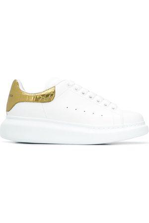Alexander McQueen Metallic Oversized low-top sneakers