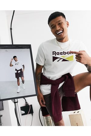 Reebok Classics t-shirt with utility print in white