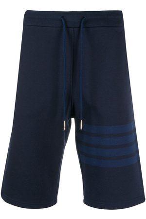 Thom Browne 4-Bar loopback track shorts