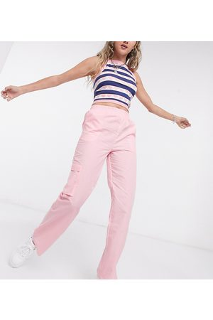 COLLUSION Relaxed trouser in pale pink