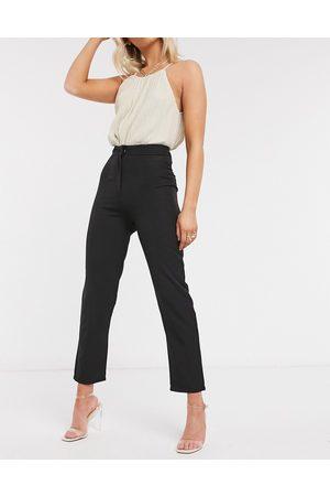 Club L Tailored cigarette trouser in black