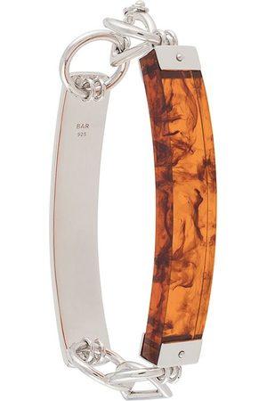 BAR JEWELLERY Barette two-bar bracelet