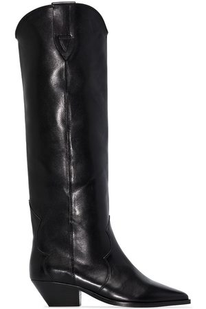 Isabel Marant Denvee 40mm over-the-knee leather boots