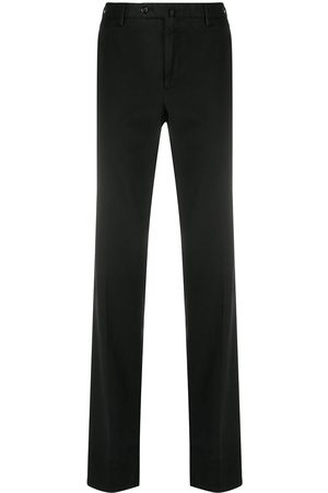 PT01 Straight-leg notched waist trousers