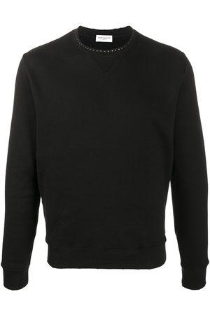 Saint Laurent Stud-embellished sweatshirt