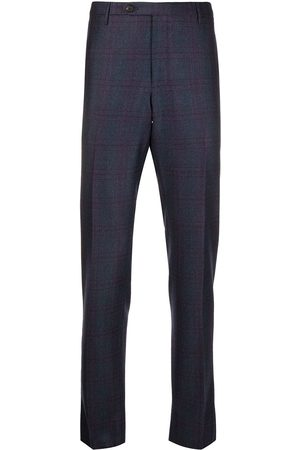 ROTA Plaid straight-leg trousers