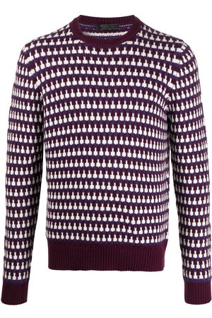 Prada Long-sleeve knitted jumper