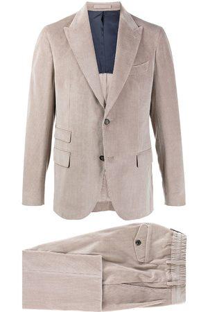 ELEVENTY Ribbed multi-pocket suit