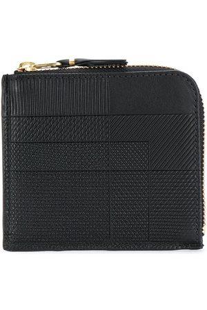 Comme des Garçons Black mix pattern wallet