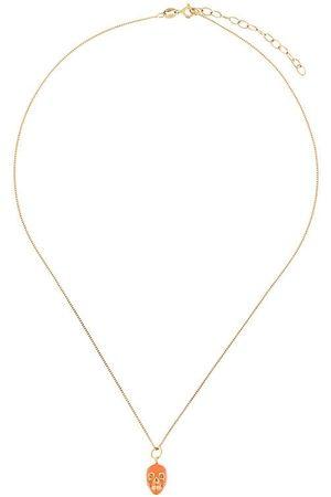 TRUE ROCKS Skull pendant necklace