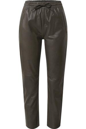 Oakwood Ženy Kožené kalhoty - Kalhoty 'Gift