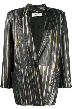 A.N.G.E.L.O. Vintage Cult 1980s metallic-striped blazer