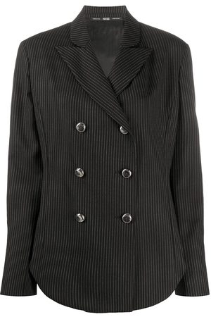 Gianfranco Ferré 1990s pinstriped blazer