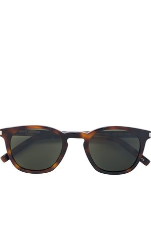 Saint Laurent D-frame tortoiseshell sunglasses