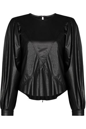 Isabel Marant Puff-sleeve relaxed top