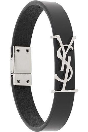 Saint Laurent Monogram leather bracelet