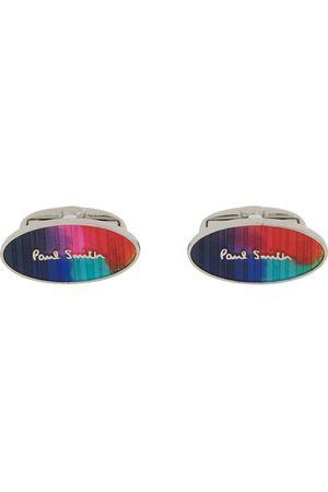 Paul Smith Muži Manžetové knoflíčky - Logo print cufflinks