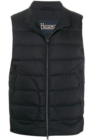 HERNO Zipped gilet jacket