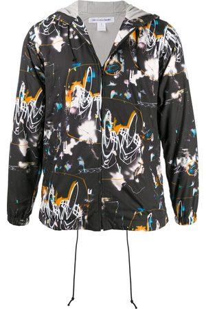 Comme des Garçons Abstract print lightweight jacket