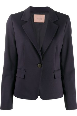 Twin-Set Single-breasted fitted blazer