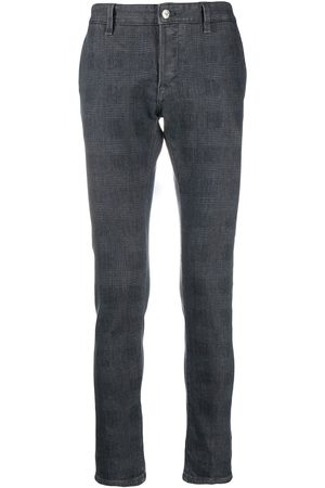 Dondup Slim-fit check pattern jeans
