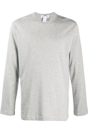 Comme des Garçons Logo print long-sleeved top