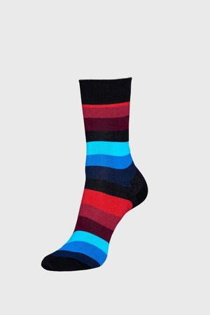 Happy Socks Ponožky Stripe černé