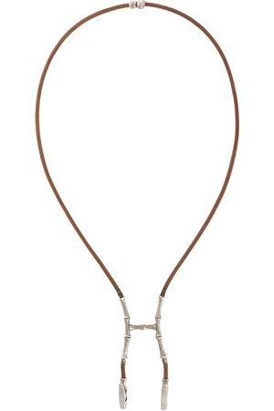 Hermès 2000s bamboo bustier necklace