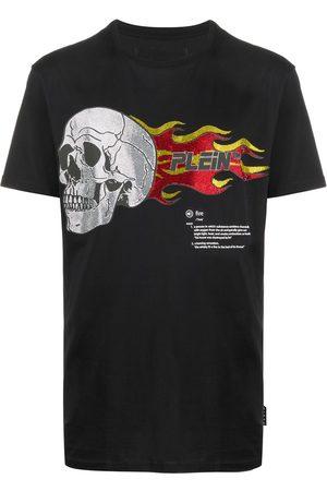 Philipp Plein Muži S krátkým rukávem - Skull print T-shirt
