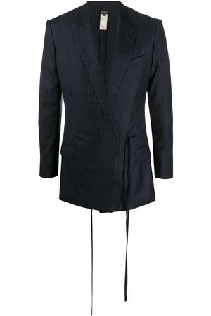 Gianfranco Ferré 2000s pre-owned pinstriped blazer