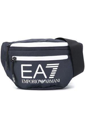 Ea7 Emporio Armani Muži Ledvinky - Printed logo belt bag