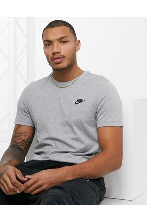 Nike Club Futura t-shirt in grey