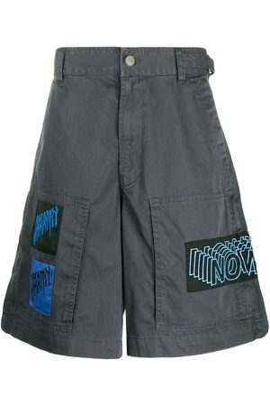Diesel Graphic patch cotton shorts